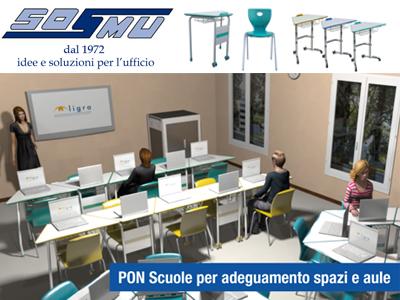 Avviso pubblico per adeguamento spazi e aule nelle scuole